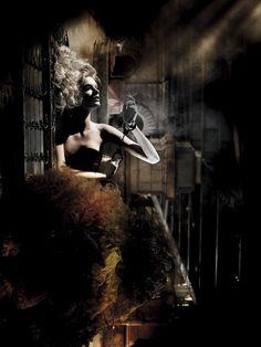 Sin City shot By Steven Meisel