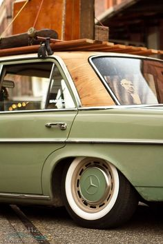 Afbeeldingsresultaat voor old roof rack modern car
