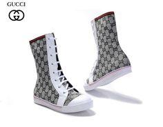 Zapatos Gucci Mujer CK56 Botas Gucci Mujer Con Cordones Plata Mezcla De  Colores y Venta Caliente 01c74c4f087
