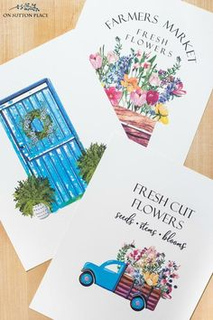 Use this free printable wall art for easy summer decor. Just print and frame! Inspired by the fresh flowers found at summer farmers markets. Free Printable Art, Printable Designs, Summer Free Printables, Cactus Wall Art, Cactus Print, Free Art Prints, Wall Art Prints, Planner Stickers, Art Disney