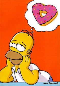 The District of Calamity: Homer Simpson on Donuts The Simpsons, Simpsons Donut, Donut Cartoon, Simpsons Quotes, Cartoon Pics, Image Simpson, Lisa Simpson, Calligraphie Copperplate, Disney Drawings