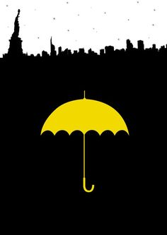 Wall paper riverdale amarelo ideas for 2019 How I Met Your Mother, Yellow Umbrella, Umbrella Art, Wall Canvas, Canvas Art, Ted Mosby, Mother Art, Himym, Dark Photography