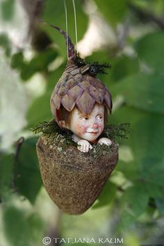 Pixie boy Timmy Wichtelkind home decor by chopoli on Etsy Pixie, Male Fairy, Fairy Crafts, Fairy Furniture, Furniture Ideas, Fairy Figurines, Fairy Garden Accessories, Fairy Doors, Gnome Garden