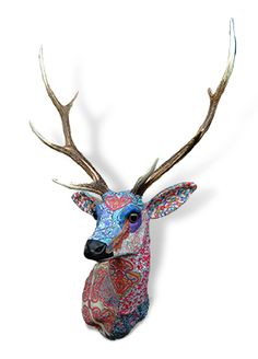 Liberty stag head