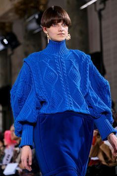 Knitwear Fashion, Knit Fashion, Live Fashion, Fashion Outfits, Latest Fashion, Winter Typ, Fall Winter, Mode Dope, Chunky Knitwear