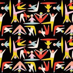 Stretching by emilyisabella: Thanks to @chrisem ! #Illustration #Stretching