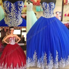 Dark Burgundy Quinceanera Dresses 2018 Mary with Sheer Bolero And Lace Up Back Appliques Royal Blue Sweet 15 Dress Royal Blue Real Pictures Special Occasion Dresses Quinceanera Dresses Ball Gown Prom Dresses Online with $228.58/Piece on Uniquebridalboutique's Store | DHgate.com