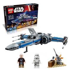 748 pcs LEPIN 2016 05029 05004 10466 Star Wars First Order Poe's X-wing Fighter building block compatible #clothing,#shoes,#jewelry,#women,#men,#hats,#watches,#belts,#fashion,#style