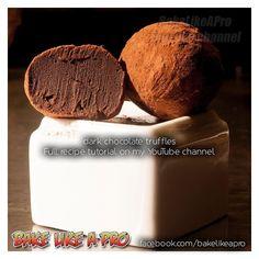 #chocolat #truffle #truffles #chocolate #callebaut #callebautchocolate @callebautchocolate #instagood #instadaily #instafood #love #recipes #tutorial #bakelikeapro #bakelikeaproyoutube