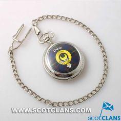 Durie Crest Pocket Watch