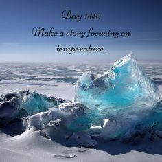 "Day 148 of 365 Days of Writing Prompts: Make a story focusing on temperature.  Shannon: It's so hot. We need to find a place to cool down,"" I begged my roommate. ""I'll go get the fan,"" she explaine…"