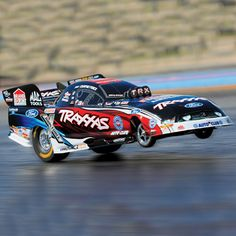 Courtney Force's funny car