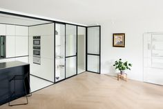 LDVD is a minimalist space located in Leuven, Belgium, designed by i.s.m.architecten