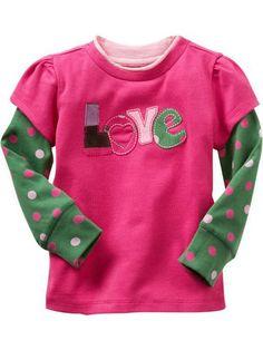 e933ed23059 Baby girl t shirt brand letter new 2016 autumn brand Polka Dot girls baby t-