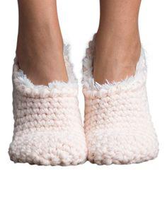 Another great find on #zulily! Vanilla Cream Nonas Faux Fur Slipper Socks #zulilyfinds