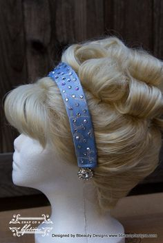 Cinderella Princess Wig and Headband Screen Quality Custom Couture Styled via Etsy Pale Blonde, Golden Blonde, Quality Wigs, Hair Quality, Princess Party, Cinderella Princess, Princess Leia, Cinderella Cosplay, Professional Costumes