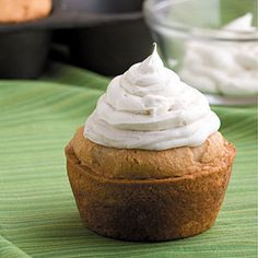 Snickerdoodle Cupcakes w/ Cinnamon Frosting  Make Snickerdoodle Cupcakes with a box of white cake mix for a sweet cinnamon treat that the adults will love as much as the kids.