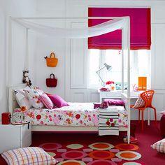 Perfect Colours Pink Butterflies Light Shade