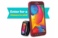 Win 1 of 5 Galaxy S5 Sport Smartphones and Gear Fit