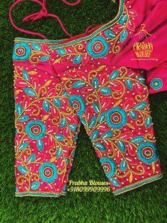 Cutwork Blouse Designs, Pattu Saree Blouse Designs, Fancy Blouse Designs, Bridal Blouse Designs, Embroidery Blouses, Embroidery Neck Designs, Hand Work Blouse Design, Stylish Blouse Design, Kurti Neck Designs