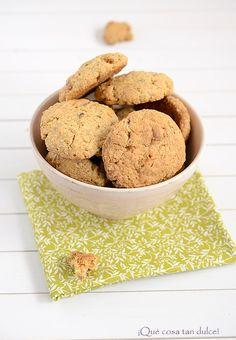 Receta de galletas de chocolate blanco