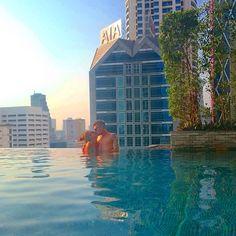 Eastin Grand Hotel Sathorn - wonderful infinity pool