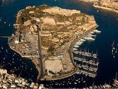 Aerial view of Manoel Island, in Gzira Malta. Malta Island, Aerial View, City Photo