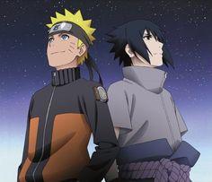 Naruto Uzumaki and Sasuke Uchiha || Naruto Shippuden
