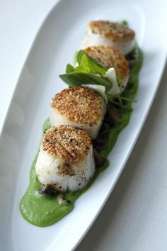 Tampa Bay's top 50 restaurants: Maritana Grille: Sea scallops with English peas, wild mushrooms, watercress-fennel salad and truffle-sherry jus.