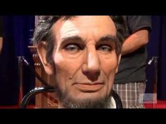This is a pretty cool demo. ▶ Abraham Lincoln Audio-Animatronic Facial Demonstration - YouTube