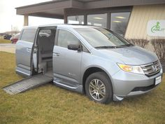 Check here for our current Honda wheelchair van inventory!