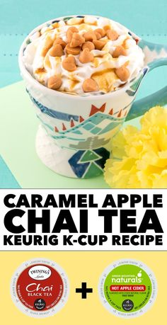Caramel Apple Chai Tea Keurig K-Cup Recipe #LiveLoveBrew