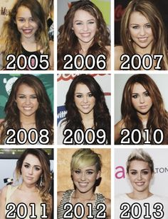 Miley Cyrus was officially the biggest plot twist in the history of ever. ♥ 2008 was my favorite
