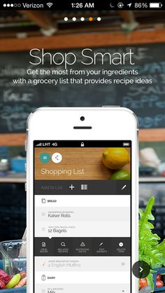 Yummly Recipes & Groce... #ui #mobile #ux