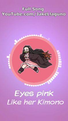 Eyes Pink Like Her Kimono Nezuko Full Song