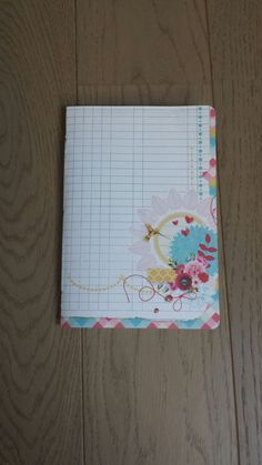 Handmade journal in my etsy store.
