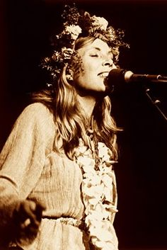 The Goddess of Singer-Songwriting genre: Joni Mitchell.