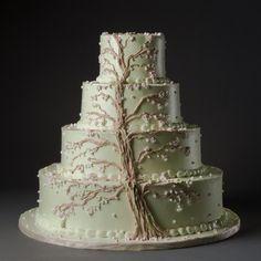 Torta matrimonio tema Albero della Vita