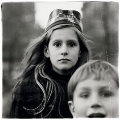 Diane Arbus, Girl in a Witch Cap
