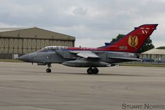 https://flic.kr/p/vYC7ad | 15 squadron Tornado GR.4 ZA461 - RIAT 2015 | The stunning XV centenary tail shortly after arriving at the Royal International Air Tattoo 2015, RAF Fairford, Thursday 16th July.