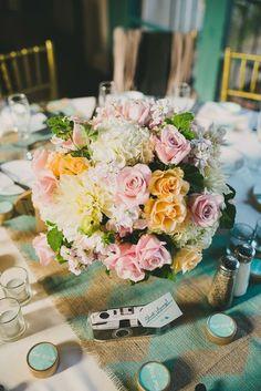 Arreglos florales para un boda relajada § Livu.com.mx