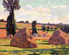 Haystacks (Armand Guillaumin - 1899)