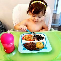 Verduras e a importância das cores na alimentação do bebê
