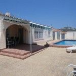 URB LAS ADELFAS Single level villa built on a level plot in a very popular residential zone of Calpe which ..