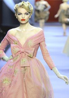 "pivovarovaholic: "" Daphne Groeneveld for Christian Dior """