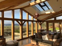 Create an exciting space for entertaining or relaxing with a beautiful oak framed garden room from Paragon Oak. Orangery Extension Kitchen, Cottage Extension, House Extension Design, Extension Ideas, House Design, Bungalow Extensions, Garden Room Extensions, House Extensions, Oak Framed Buildings