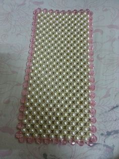 Another beautiful pearl mat which can beautify ur small or horizontal show pieces.... Orders taken...