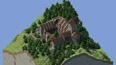 Image result for monastery minecraft
