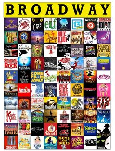 Broadway Posters, Musical Theatre Broadway, Broadway Plays, Broadway Nyc, Musicals Broadway, Broadway Themed Room, Best Broadway Shows, Broadway Quotes, Les Miserables