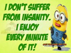 I DONT SUFFER.....